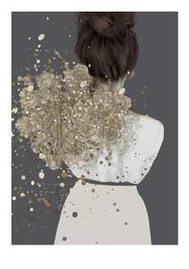 Bilde av Kunsttrykk Vilja 50x70 - Anna Bülow