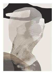 Bilde av Kunsttrykk Monument 1 30x40 - Anna Bülow