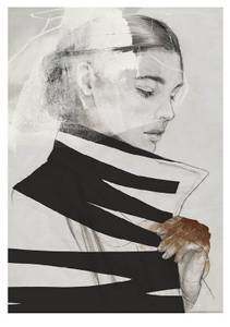 Bilde av Kunsttrykk Frida 50x70 - Anna Bülow